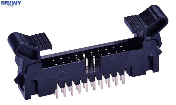 Rectangular Circuit Board Cable Connectors , DIP Surface Mount Wire To Board Connector