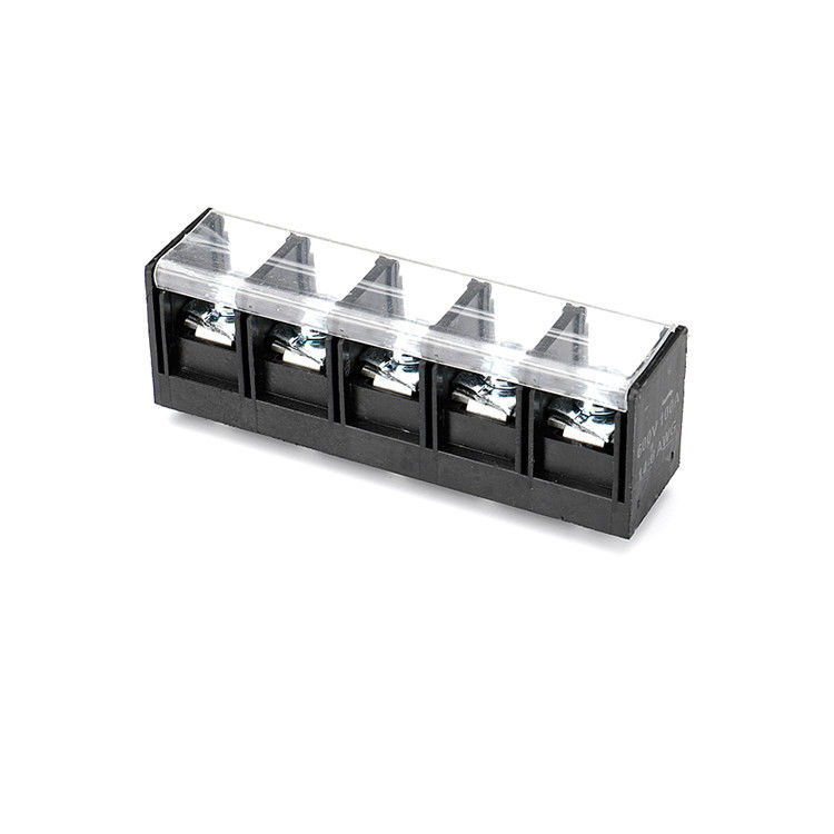 Single Row PCB Barrier Terminal Block Connector 16.0mm Pitch 1*05P  PBT H=31.0mm